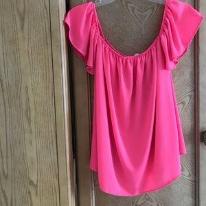 Tops - Hot Pink Top